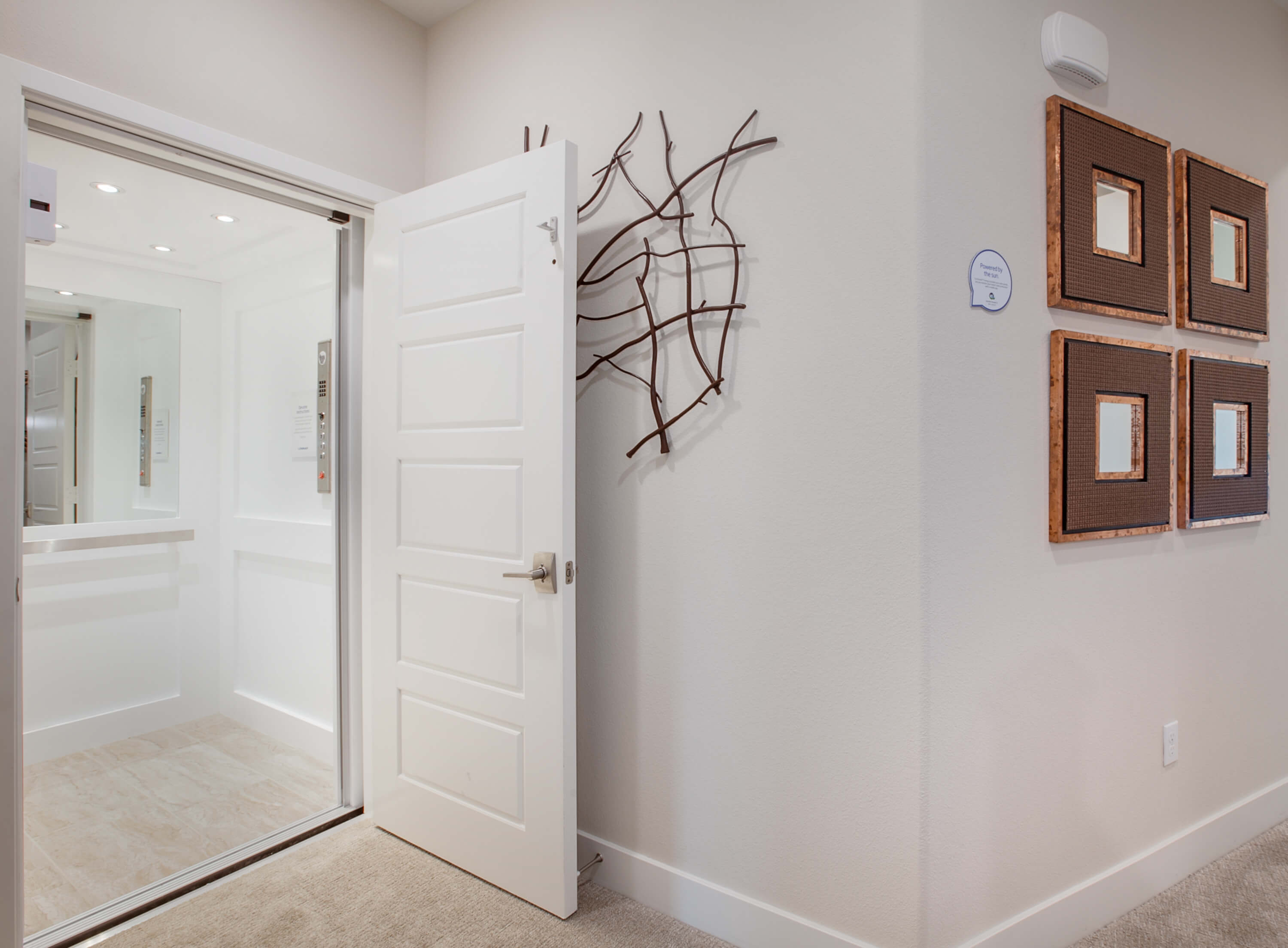 elevator installed in single family home