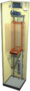 traction home elevator
