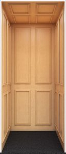 Vintage Series Maple Home Elevator
