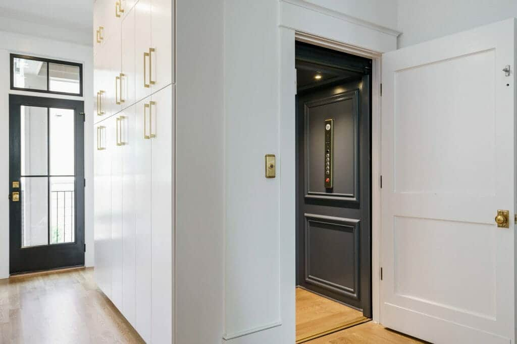 georgia residential elevator install