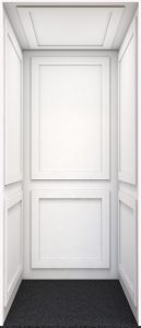 Farmhouse Home Elevator White
