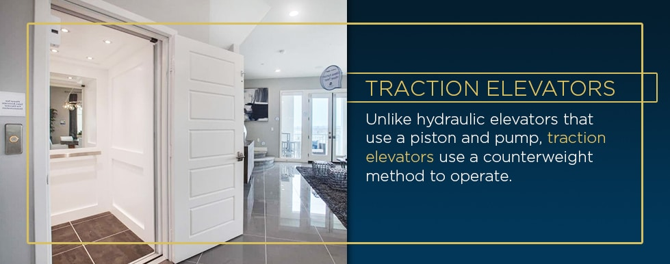 traction home elevators