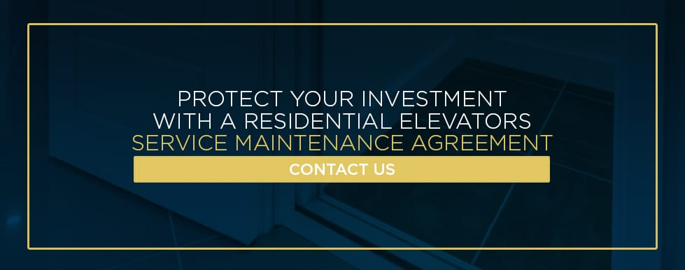 get a home elevator service agreement