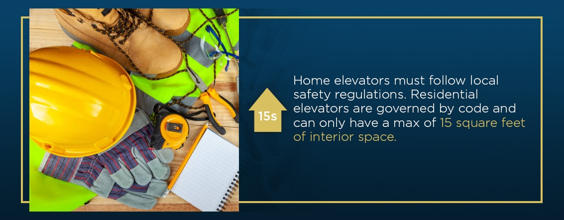 home elevator safety regulations